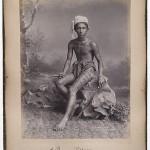 a burmese villager circa 1887