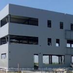 capannone in costruzione