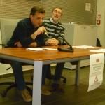 Luca Scaramelli e Romano Romanini