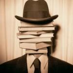 libri in testa